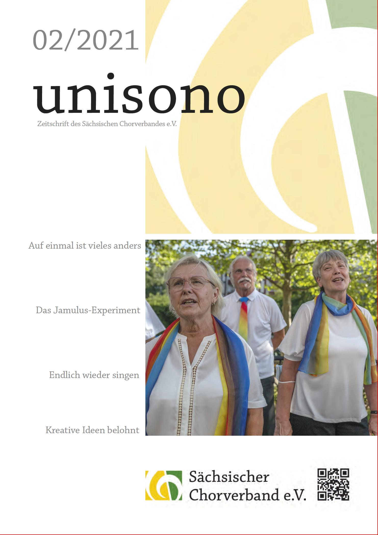 UNISONO 2021 -2 Titelseite