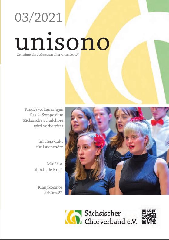 UNISONO 2021 -3 Titelseite